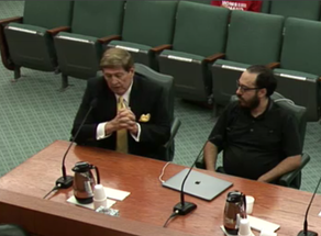 ARK PRESIDENT TESTIFIES BEFORE TEXAS SENATE SELECT COMMITTEE ON VIOLENCE & SCHOOL SAFETY